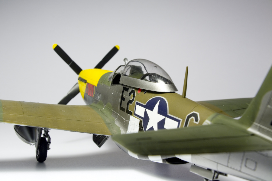 "Mustang Decals And Stripes >> Done: Hasegawa 1/48 P-51D Mustang ""Lou IV"" 